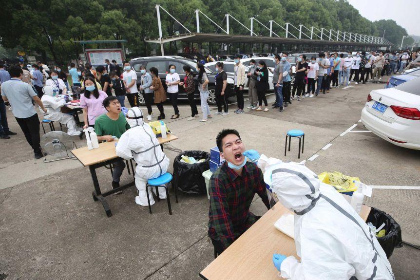 چینی ها 10 روزه 9 میلیون تست کرونا در یک شهر گرفتند