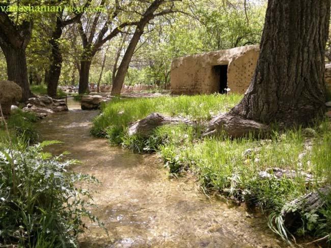 روستای وانشان گلپایگان با زیبایی های تاریخی