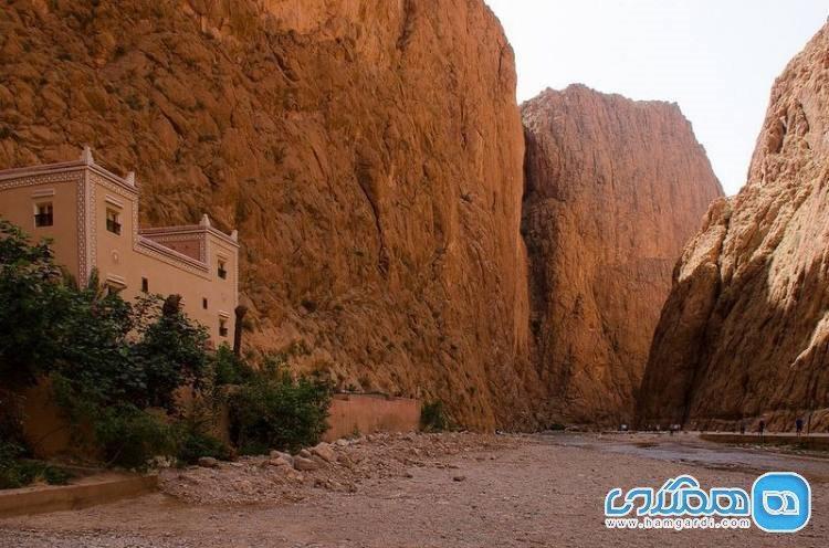 دره عمیق تودرا جرج؛ زیبایی افسونگر در قلب مراکش