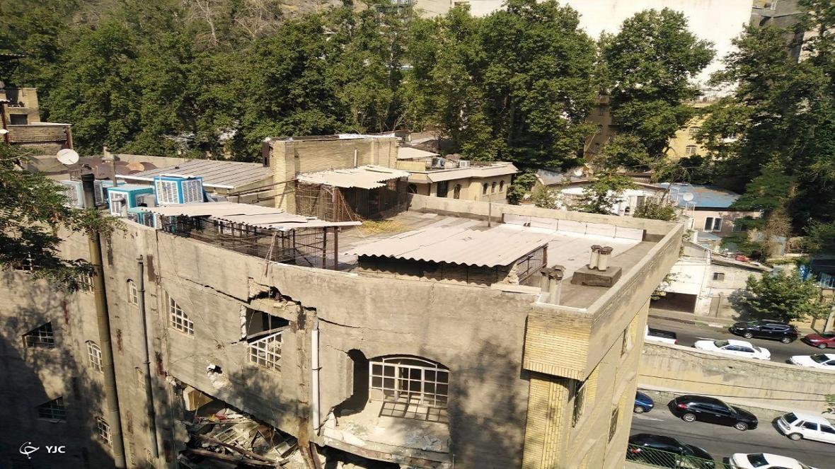 وقتی طبیعت جور شهرداری بیخیال را می کشد، صبرکوه هم از تخلفات ساخت و ساز در تهران لبریز شد