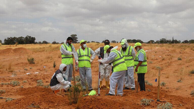 کشف پنج گور جمعی دیگر در لیبی