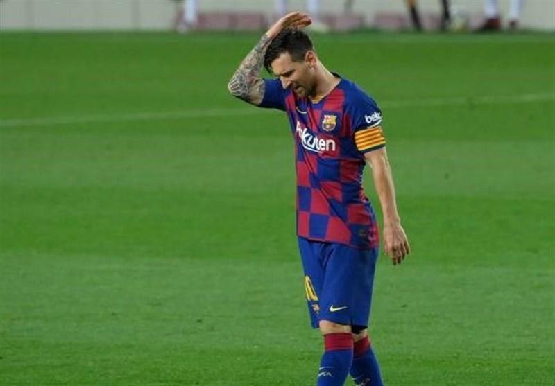 کاهش هنگفت درآمد باشگاه بارسلونا به دلیل جنجال مسی